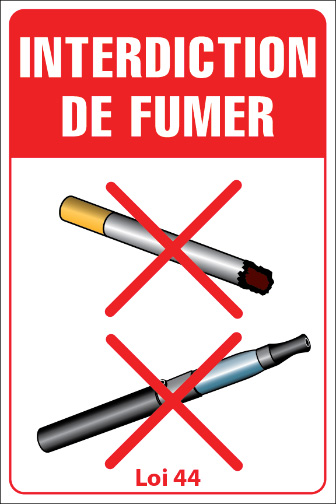 affiches s curit panneaux cigarette interdiction fumer affichage sst sant s curit et. Black Bedroom Furniture Sets. Home Design Ideas