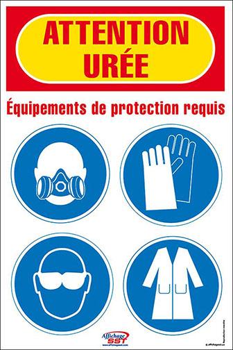 Affiches s curit e p i obligatoires quipement protection individuelle au travail affichage - Sensibilisation au port des epi ...