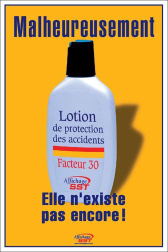 Exceptionnel Affiches sécurité prévention au travail - Affichage SST – Santé  OA98