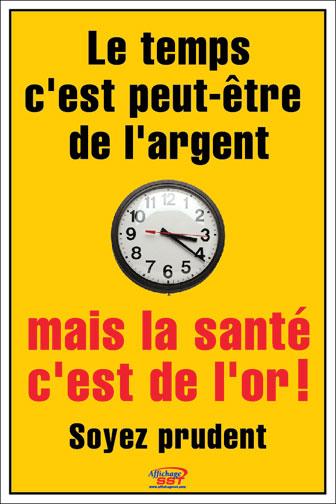 Fabuleux Affiches prévention sécurité au travail - Affichage SST – Santé  FO57
