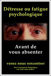 Detresse psychologique 4