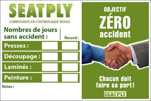 jours sans accident